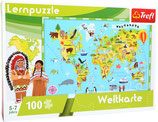 "Lernpuzzle "" Weltkarte"""