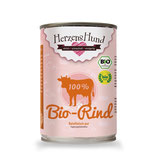 Herzens Hund Bio Rind pur 400g