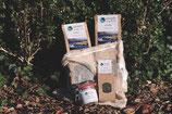 Starter-Kit Nr. 2 mit praktischem (Meeres-) Gemüsenetzli und 10er-Rezeptkarten-Set