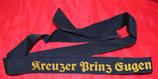 Artikelnummer: 01597 Mützenband Kreuzer Prinz Eugen