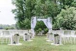 Traubogen/ Hochzeitspavillion