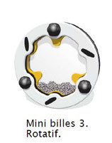 Mini billes 3 rotatif