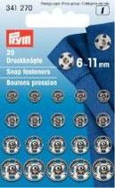 Druckknöpfe 6-11mm
