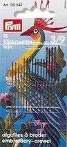 STICKNADELN FEIN SORTIERT NR.3-9