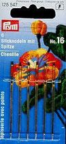 STICKNADELN CHENILLE MIT SPITZE N.16