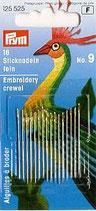 STICKNADELN FEIN NR.9