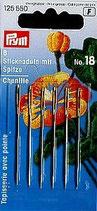STICKNADELN CHENILLE MIT SPITZE N.18