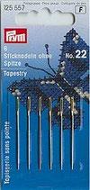 STICKNADELN STUMPF NR.22