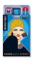 cardbox c 079 > Nostalgic girl blau