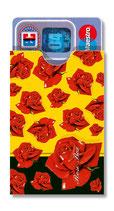 cardbox c 0105 > Rosen auf gelb
