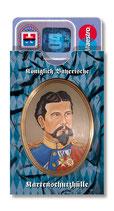 cardbox c 0238 > Königlich Bayerische Kartenschutzhülle - König Ludwig gemalt