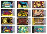cardbox Horoskop-Set > 12 Stück