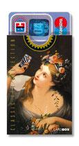 cardbox c 0151 > Mädchen mit Blumenkranz