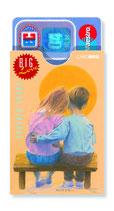 cardbox c 0145 > Young love couple