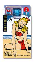 cardbox c 028 > Beach Girl