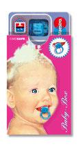 cardbox c 0102 > Baby mit Schnuller