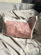 Shopping Bag 'Ich liebe Dich' - Natur