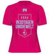 Laufshirt Damen #in30tagenumdiewelt 2018