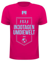 Laufshirt Herren #in30tagenumdiewelt 2018