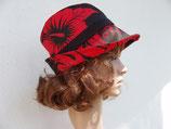 Trilby Tahiti rouge et noir