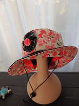 Chapeau de pluie avec lien