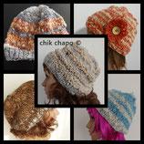 Bonnet en laine vierge (mouton, lama ou mixte)