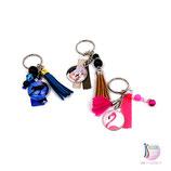 Porte-clés Méli-Mélo et Cabochons personnalisé