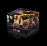 Piemont Haselnüsse in 40% Milchschokolade mit Zimt
