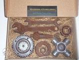 Werkzeugkasten gross - alle Teile aus geschmacksintensiver Schokolade