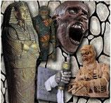 Réplica de candelabro momia para decorar Halloween