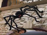 Réplica de araña de gran tamaño para decorar Halloween