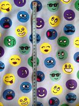 Baumwolle Smileys blau