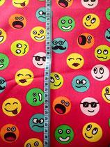 Baumwolle Smileys pink