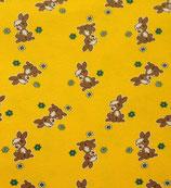 Häschen auf gelb