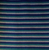 Ringelbündchen blau
