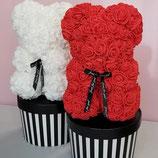 おむつケーキ 女の子 男の子 シンプル ローズベアー おしゃれ 出産祝い ベビーシャワー ダイパーケーキ 可愛い ブーケ くまのぬいぐるみ