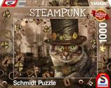 Steampunk Katzen Puzzle