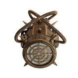 Fashion Steampunk Gasmaske klein