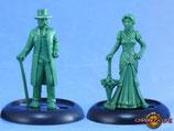 Viktorianisches Paar
