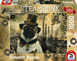 Steampunk Hunde Puzzle