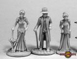 3  viktorianische Figuren