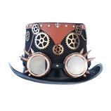 Steampunk Zylinder mit Brille