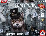Steampunk Wolf Puzzle