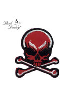 Patch roter Skull