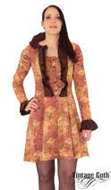 Steampunk Kleid Baumwolle