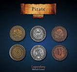 Piraten Münzen Set