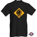 T-Shirt Caution Timetraveller