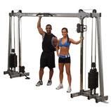 Pro Dual Cable Crossover 'Studio' mit 72,5 Kg Gewichtsturm