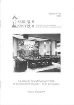 Bull. no 56 - La salle du Grand Conseil (1939) et sa décoration murale (1944), au Casino