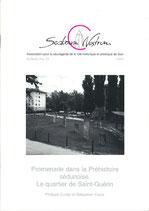 Bull. no 59 - Promenade dans la Préhistoire sédunoise. Le quartier de Saint-Guérin